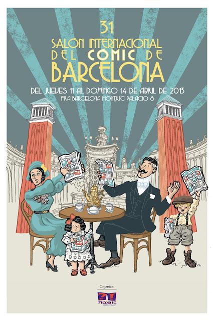 cartel salon comic barcelona 2013