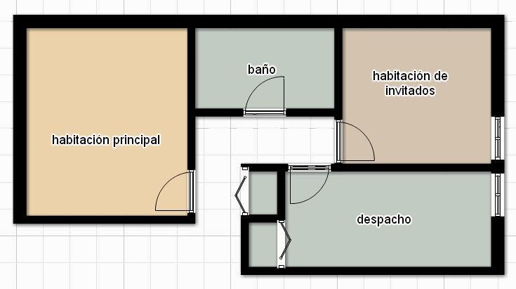 """Baño Vestidor Medidas:Pero la habitación extra (""""de invitados"""") se utiliza muy poco y me da"""