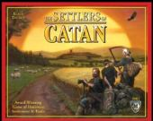 Settlers of Catan boxed eurogame boardgame