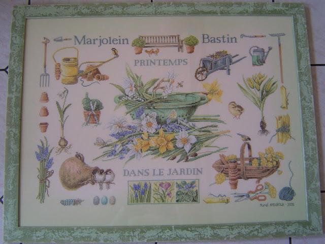 Spring in the Garden,Marjolein BASTIN,Lanarte,Broderie