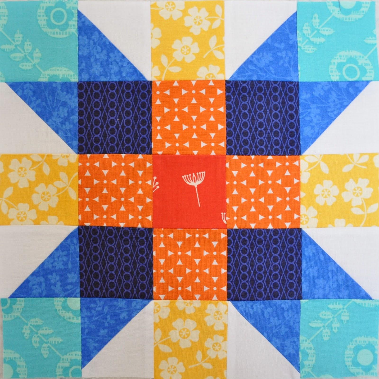 ombre quilt block