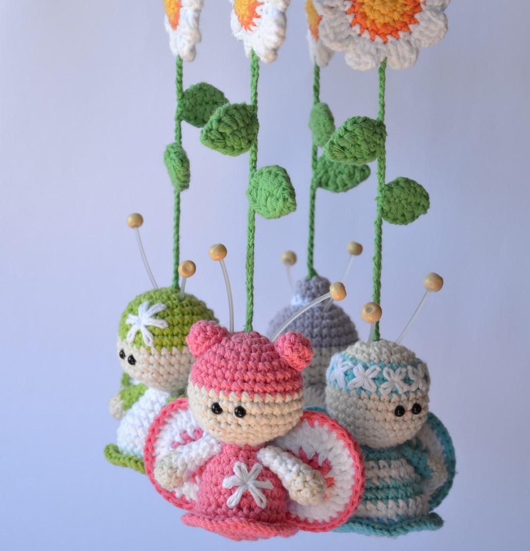 Amigurumi Baby Mobile Pattern : Es un Mundo Amigurumi: Movil de Mariposas... el patron!!!