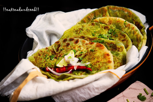 how to make peas paratha recipe