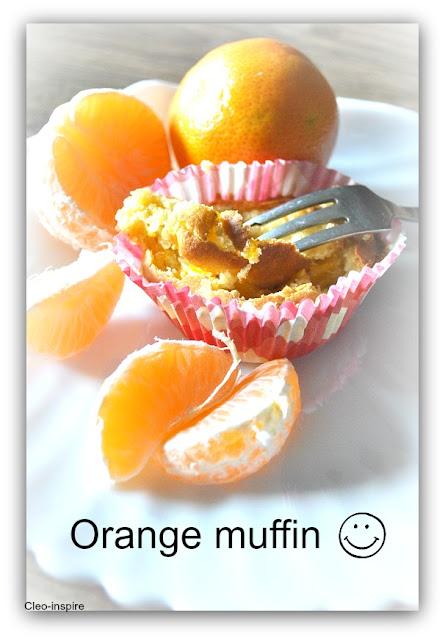 muffiny o smaku pomarańczy