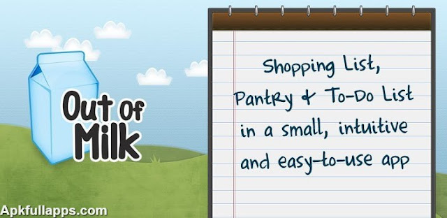 Out of Milk Shopping List PRO v3.3.4