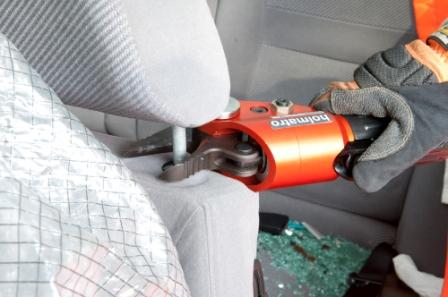 Headrest cutter