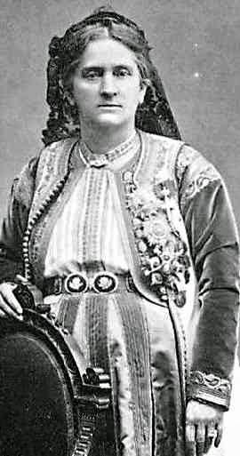 Reine Milena de Monténégro 1847-1923-Petrovitch-Niegosch