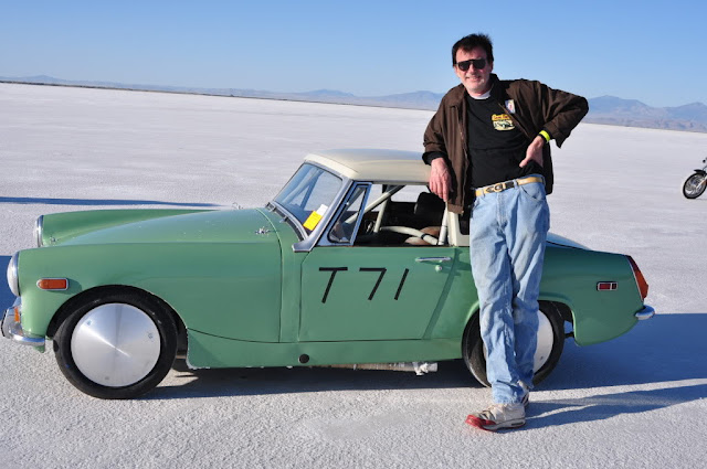 "Chris Conrad and His ""Milwaukee Midget"" Go for a Land Speed Record at Bonneville Speed Week 2013"