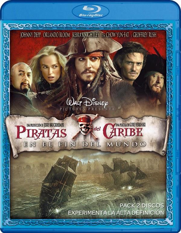 Piratas del Caribe En El Fin del Mundo (2007) m720p BDRip 4.5GB mkv Dual Audio AC3 5.1 ch