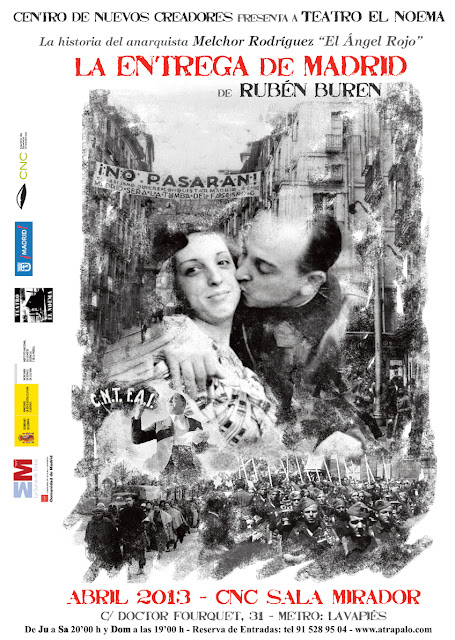 cartel la entrega madrid color - EN MADRID - CNC Sala Mirador