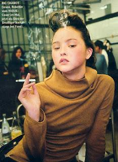 Devon Aoki Smoking