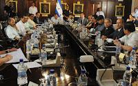 dirigentes politicos de Honduras