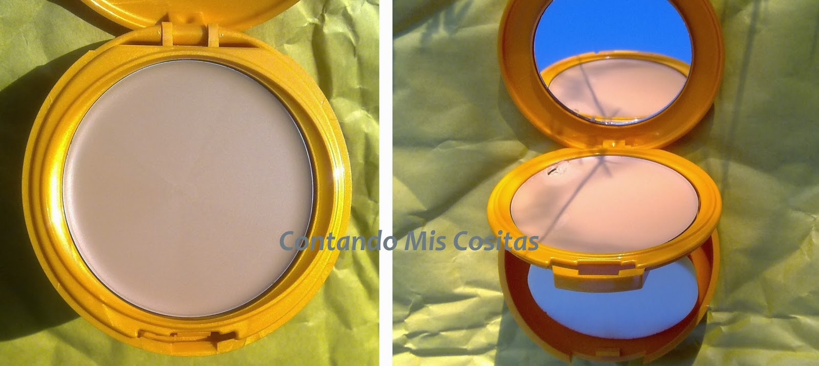 Swatches maquillaje solar Vichy SPF30 Beige Sand