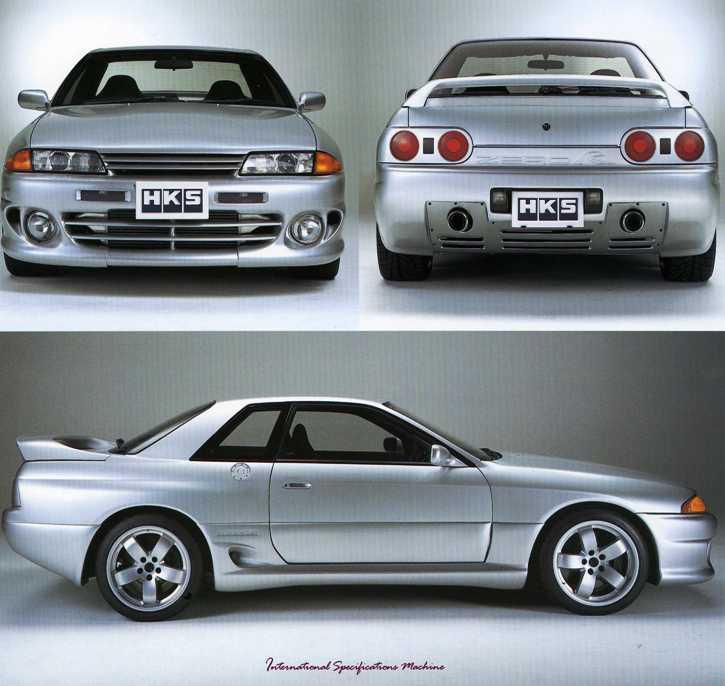 316. Nissan Skyline R32 HKS Zero-R. staryjaponiec blog