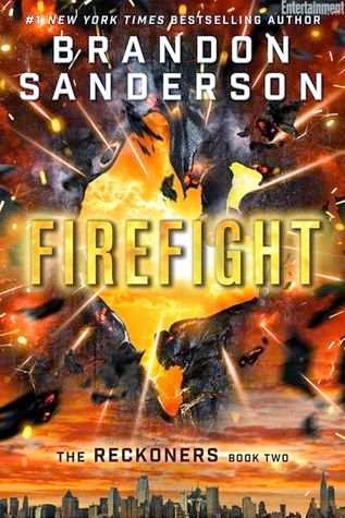 bookcover of FIREFIGHT  (Reckoners, #2) by Brandon Sanderson