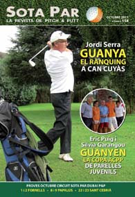 Portada Revista Sota Par octubre 2011