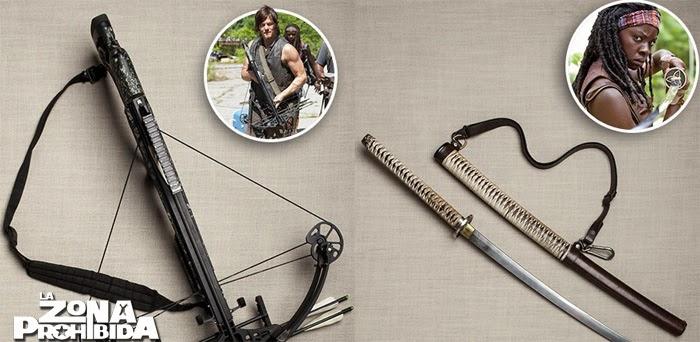 """The Walking Dead: """"Los 14 Accesorios Más Icónicos"""" TWD-lzp"""