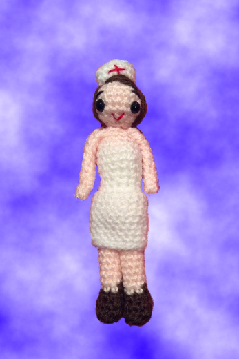 Amigurumi Nurse Pattern : Lonemer Creations: Monika the Nurse