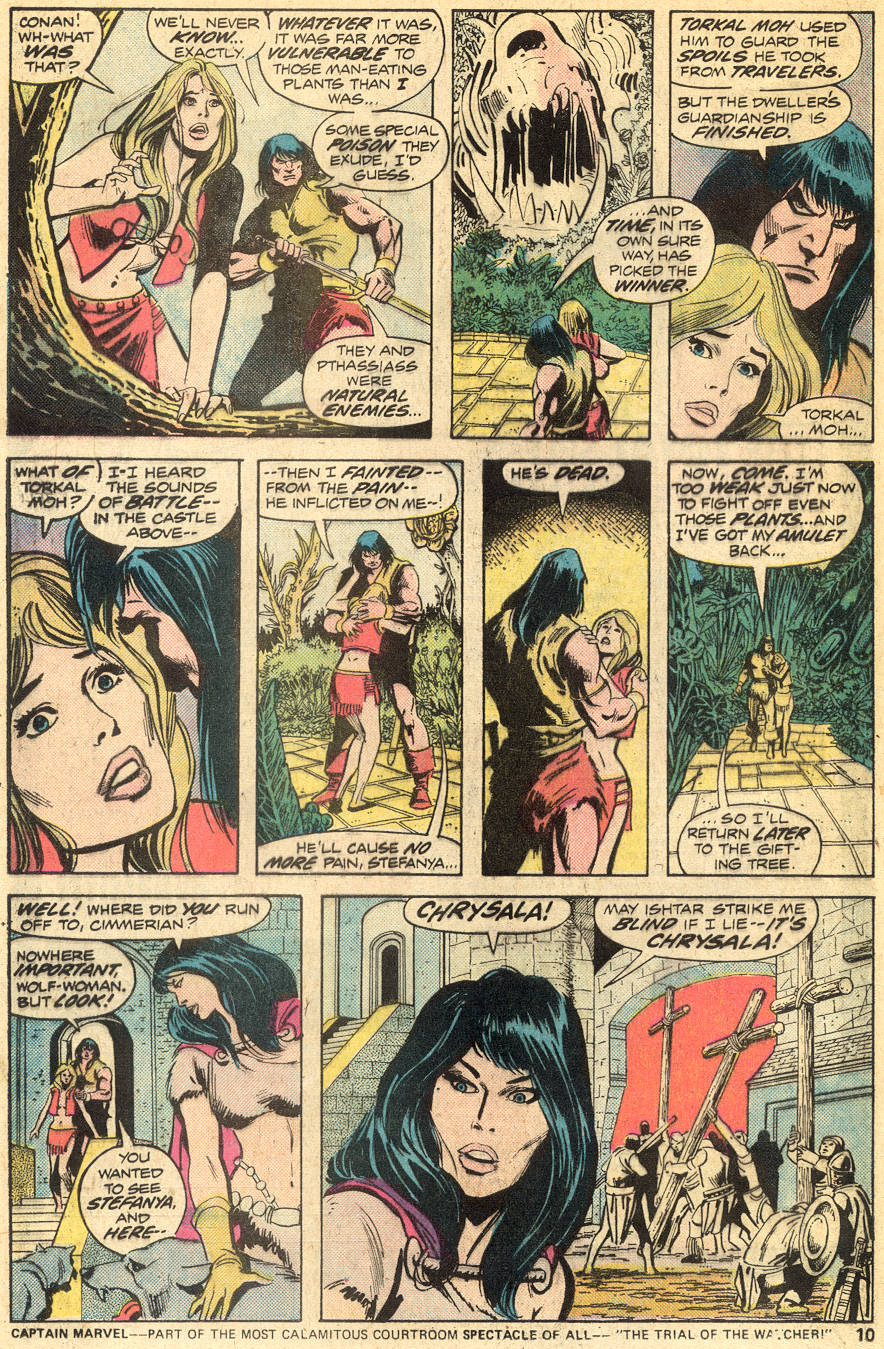Conan the Barbarian (1970) Issue #50 #62 - English 7