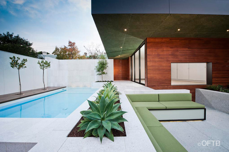 Fotos de piscinas hermosas ideas para decorar dise ar y for Casa moderna con piscina