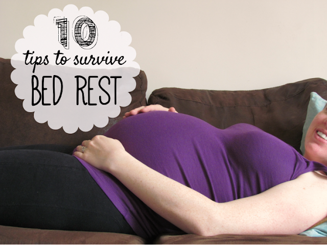 10 Tips to Survive Bed Rest