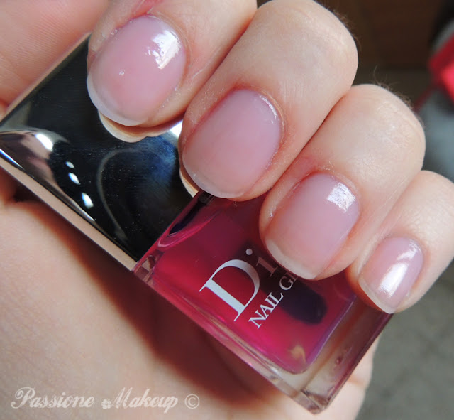 dior nail glow cherie bow 2013