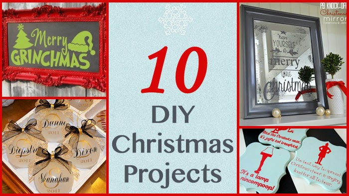 do it yourself divas 10 diy christmas projects. Black Bedroom Furniture Sets. Home Design Ideas