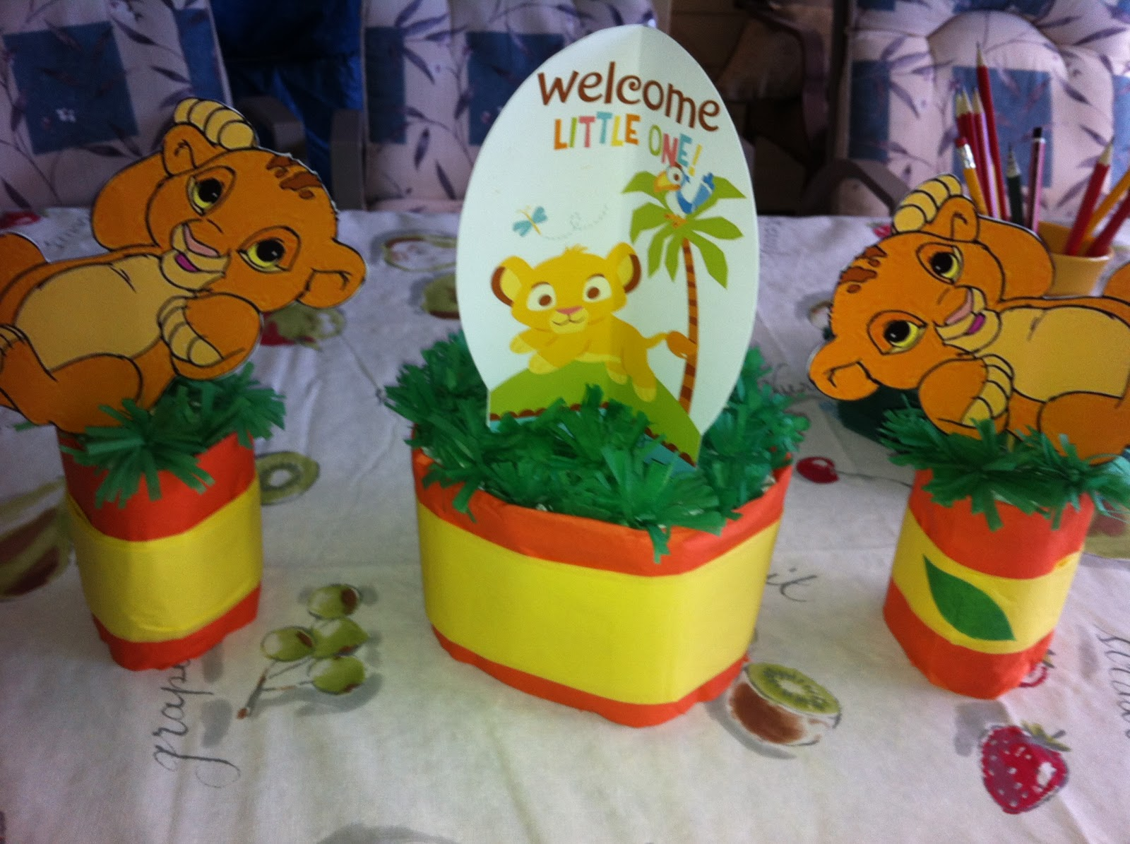 mummy jellybean lion king baby shower