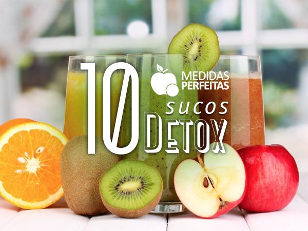 As 10 Melhores Receitas de Sucos Detox