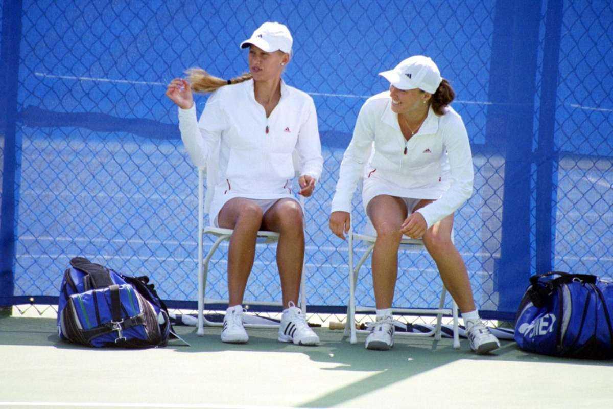 Фото у теннисисток под юбкой