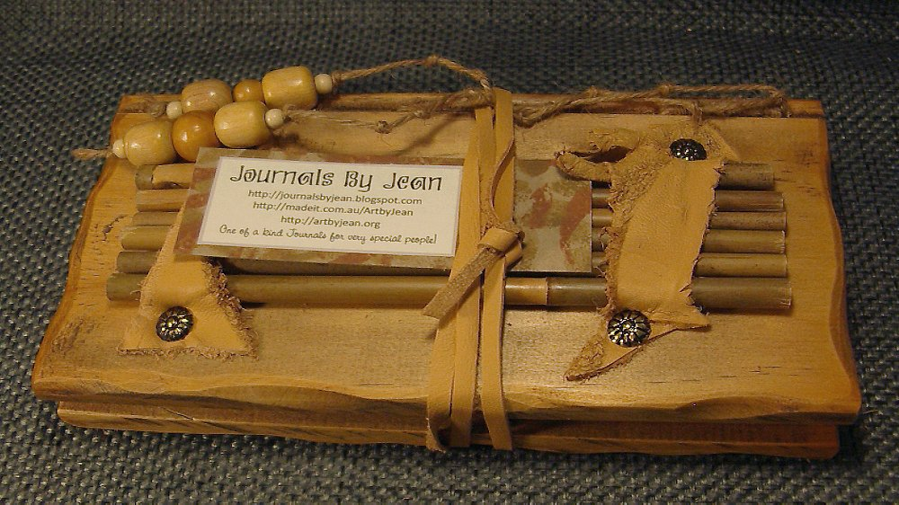 How To Make A Book Cover Look Old : Journals by jean journal rustic pine wood covers with