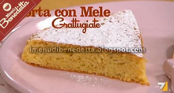 Torta di mele grattugiate la ricetta di benedetta parodi for Ricette di benedetta parodi