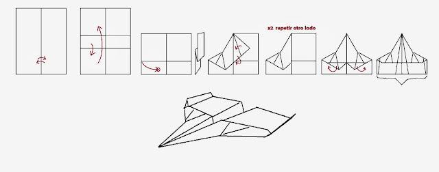 Increibles aviones de papel 8