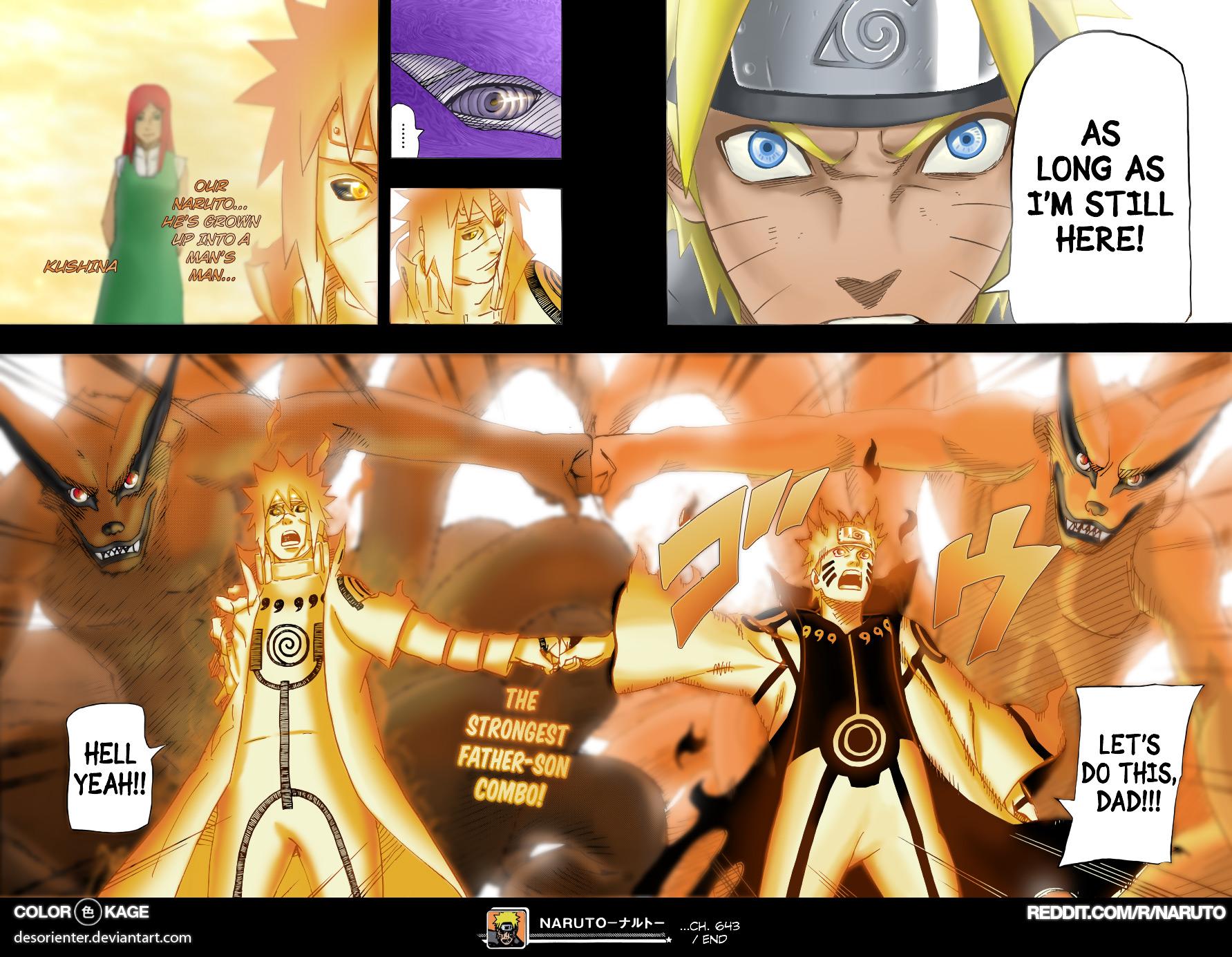 Naruto chap 645 Trang 17