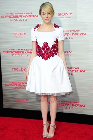 Emma Stone at the LA premiere of The Amazing Spider-Man