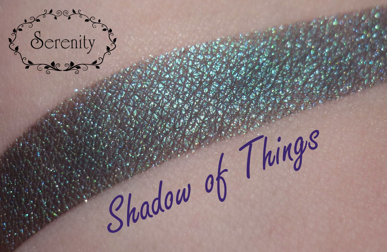 Notoriously Morbid Shadow of Things Swatch