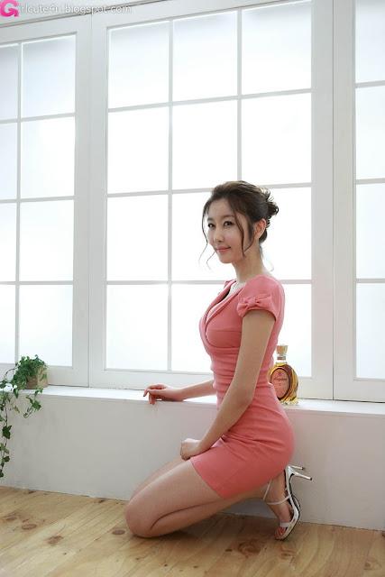 4 Choi Byeol Yee - Sexy Pink-very cute asian girl-girlcute4u.blogspot.com