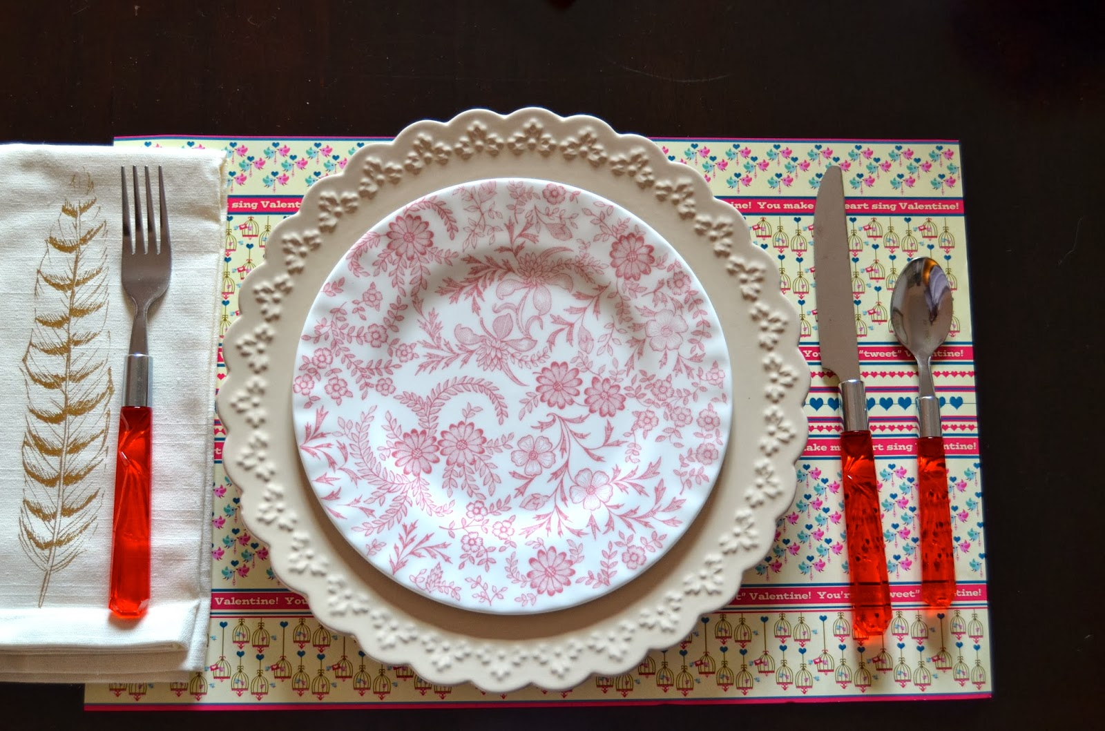 Place Setting Inspiration Outside the Box Papers