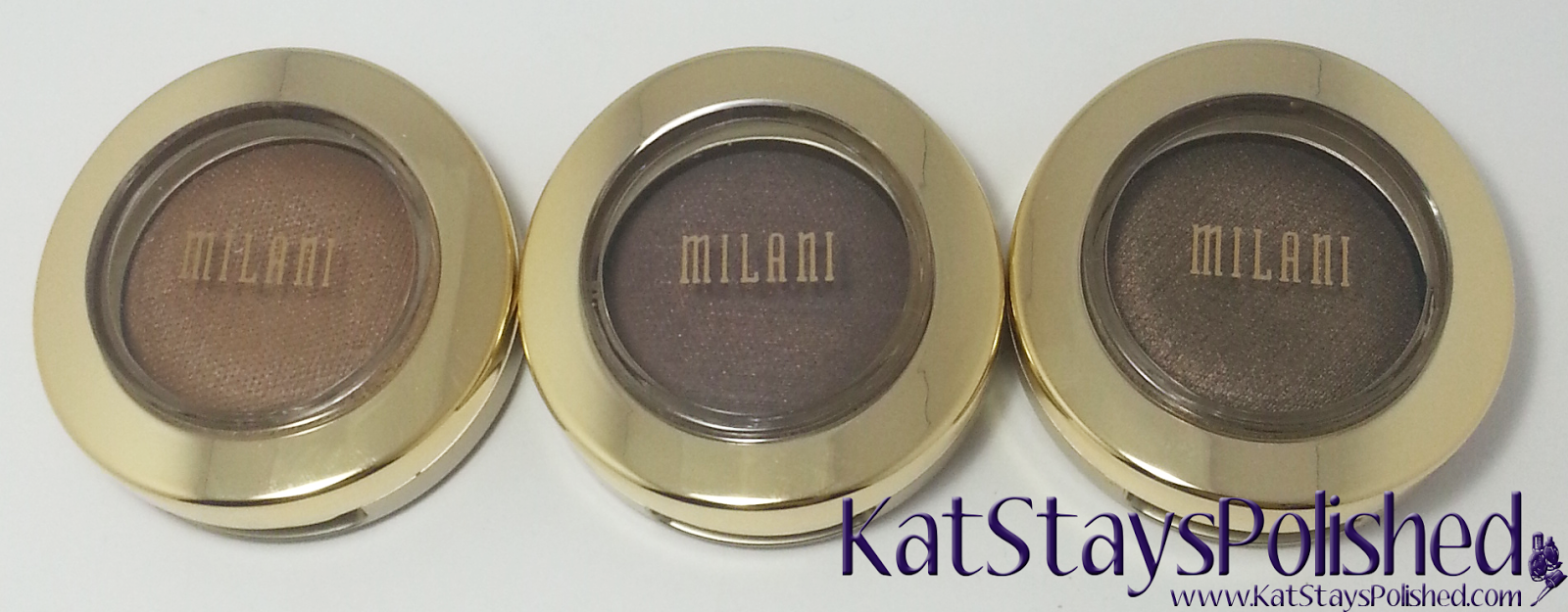 Milani Bella Eyes Gel Powder Eye Shadow - Caffe - Taupe - Espresso | Kat Stays Polished