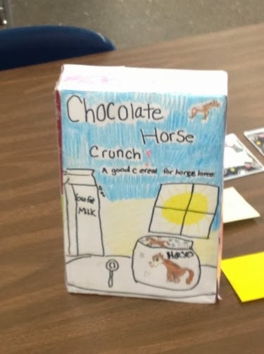 Tuning Into Fourth Grade  Nonfiction Cereal Box Book Report
