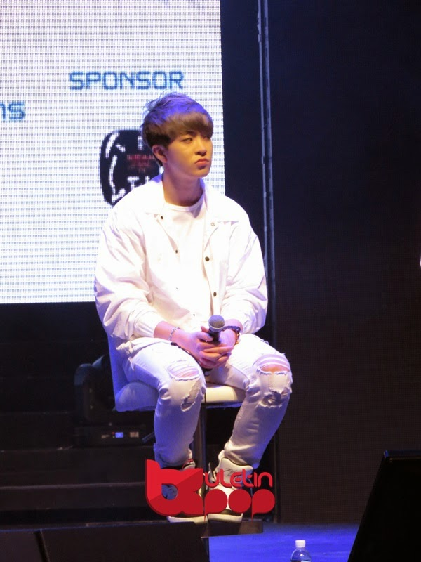 GOT7, Singapura, fan meeting, 2015, Youngjae