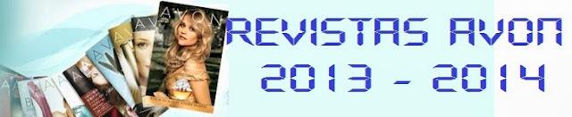 revistas avon 2013 2014 campanhas avon