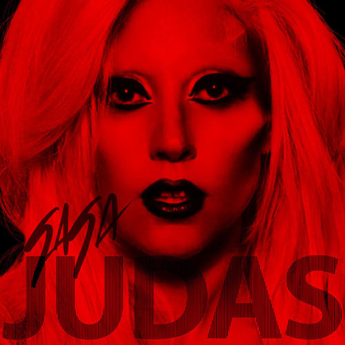 lady gaga judas hair. lady gaga hair album artwork.