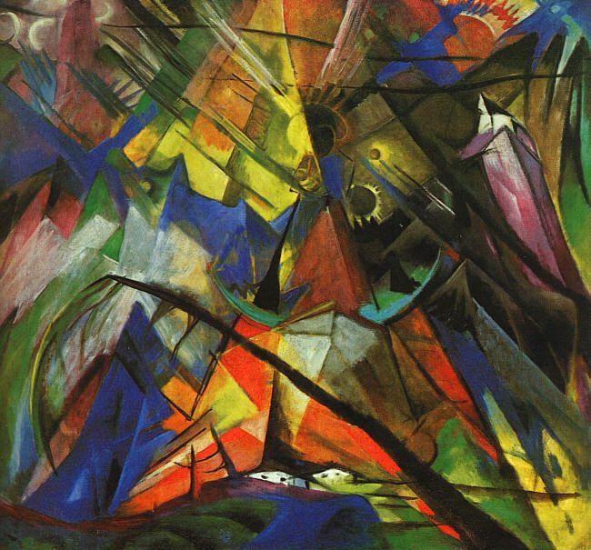 Bozetando movimientos art sticos expresionismo for Minimal art obras y autores