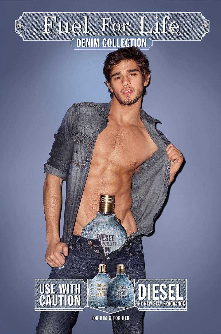 Marlon Teixeira by Terry Richardson for Diesel Fragrance