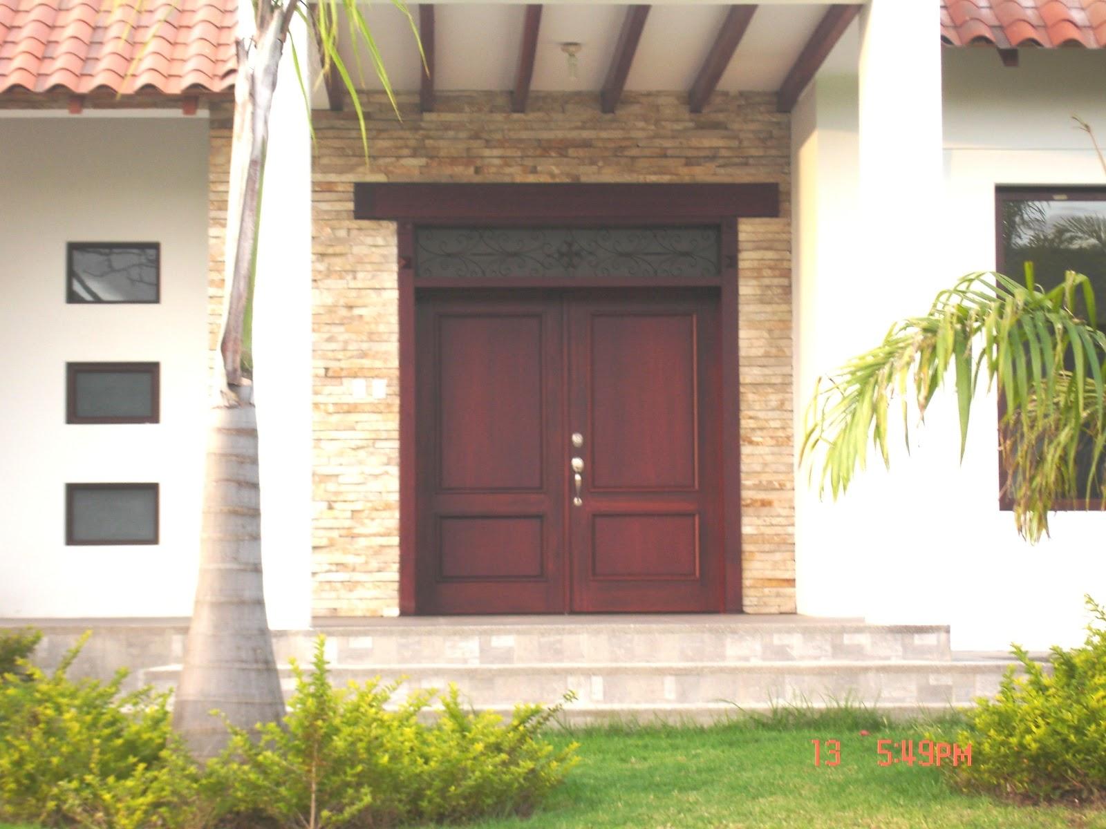 Puertas para casa imagui for Colores para puertas exteriores