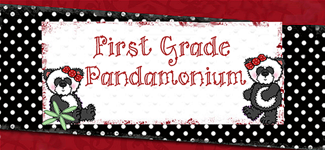 First Grade Pandamonium