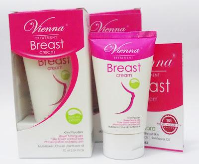 Vienna breast cream pembesar dan pengencang payudara