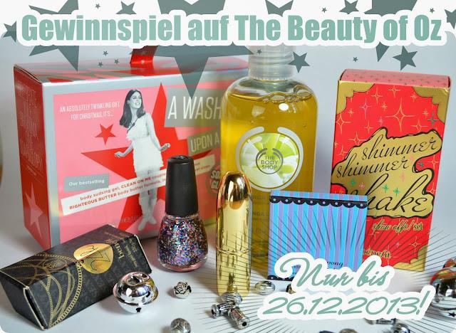 Gewinnspiel X-Mas Calendar mit Benefit, Soap&Glory, China Glaze uvm