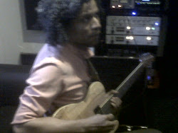 Grabando guitarras gran Sabana